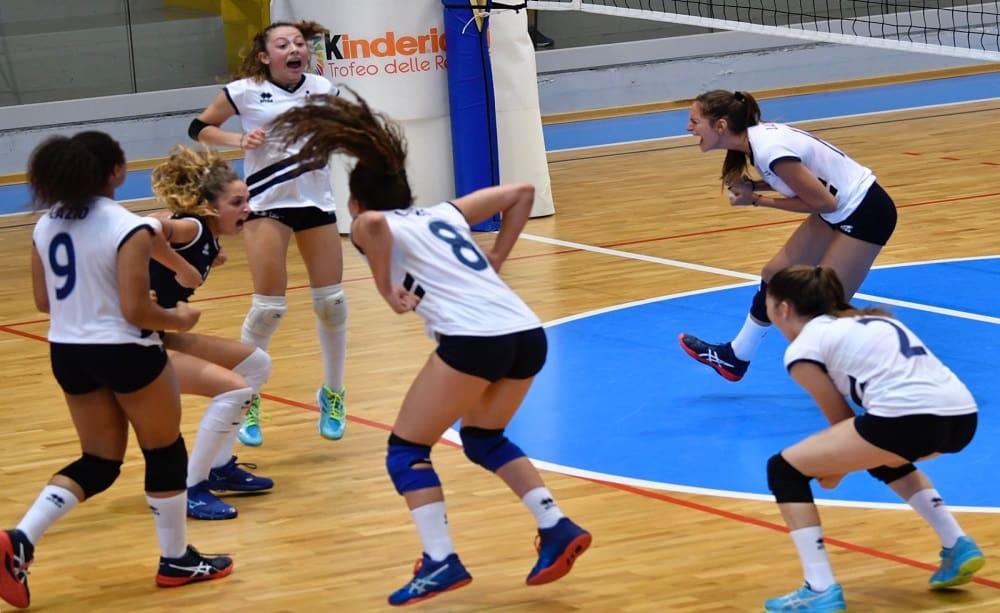 Lazio, Pallavolo U15 - Foto Fipav Lazio