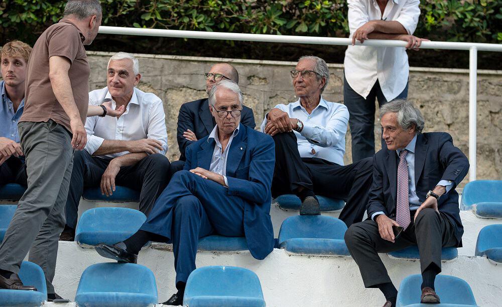 Giovanni Malagò alla Coppa dei Canottieri