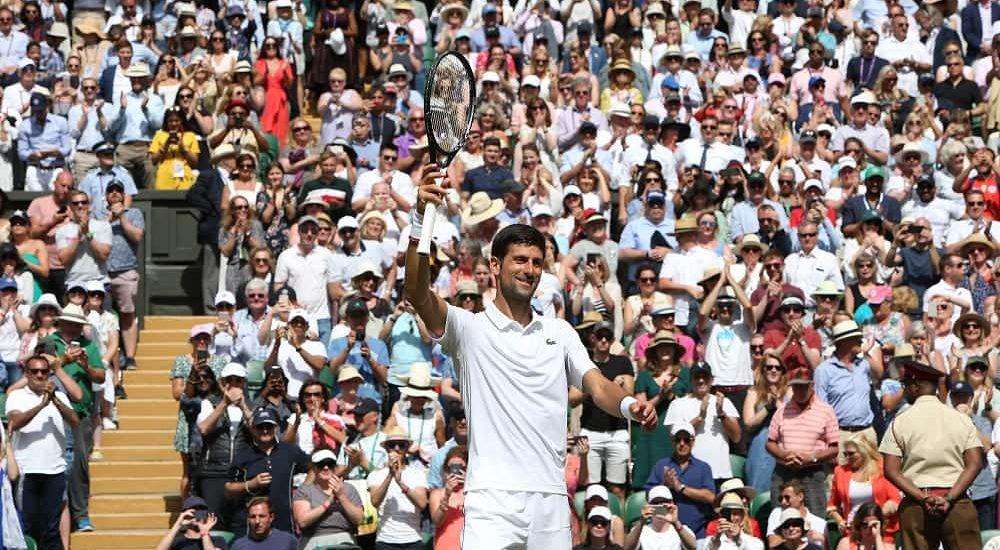 Novak Djokovic - foto Ray Giubilo