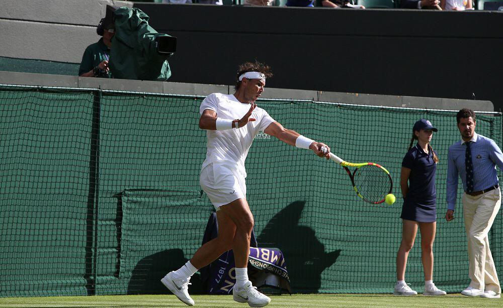 Rafael Nadal - foto Ray Giubilo