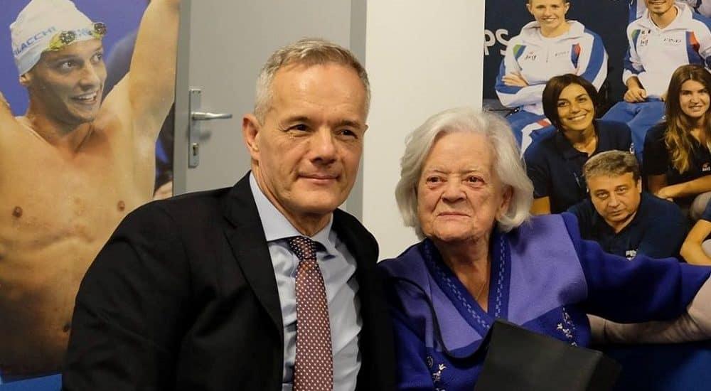 Roberto Valori e sua mamma