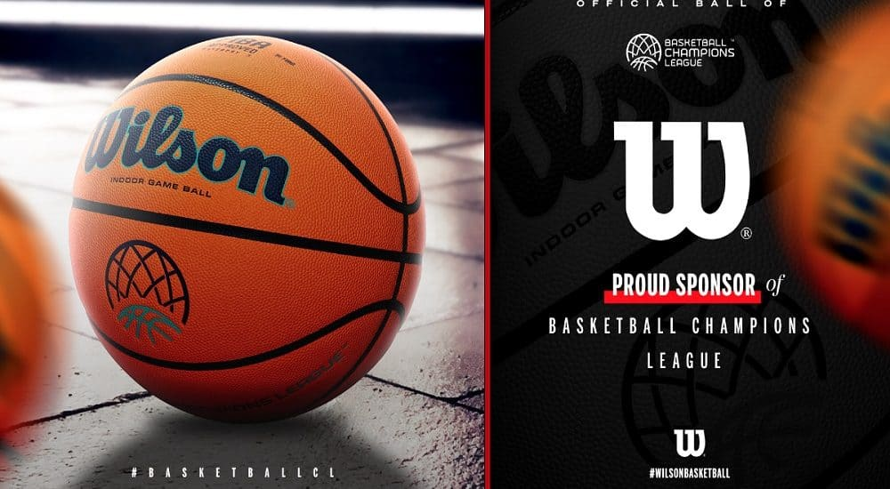 Pallone Wilson Basketball Champions League