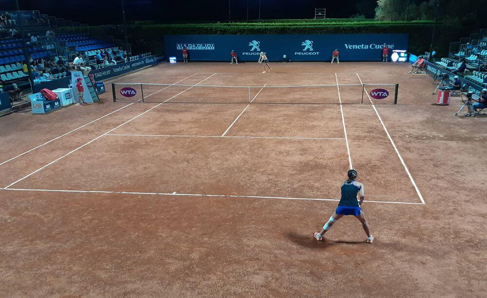 WTA Palermo, Gatto Monticone vs Lottner - Foto Sportface