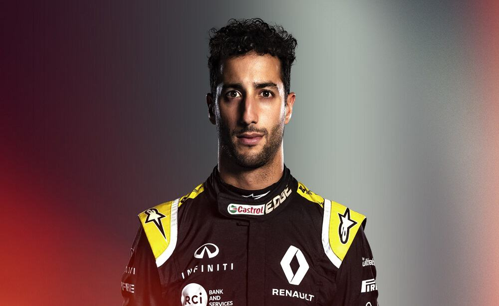 Daniel Ricciardo - Foto sito ufficiale F1