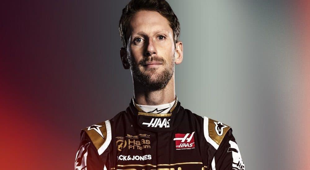 Romain Grosjean - Foto sito ufficiale F1