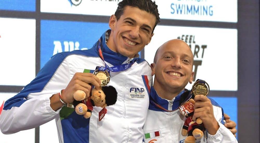Federico Morlacchi e Simone Barlaam - Foto Bizzi/FINP