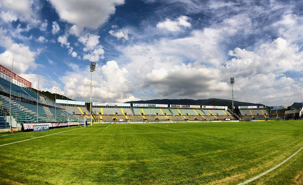 Stadio Mario Rigamonti di Brescia - Foto Валерий Дед CC BY 3.0
