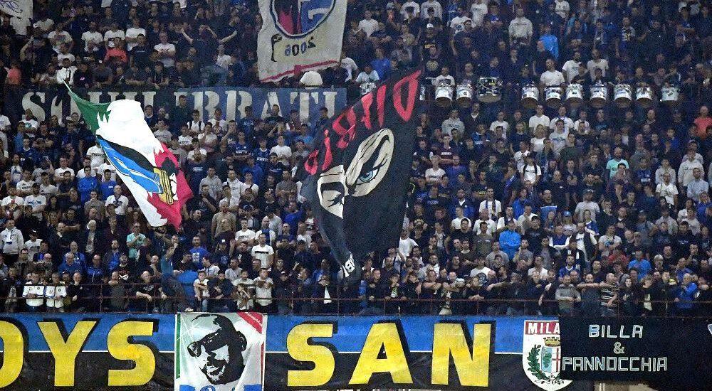 Tifosi Curva Nord Inter, San Siro - Foto Antonio Fraioli