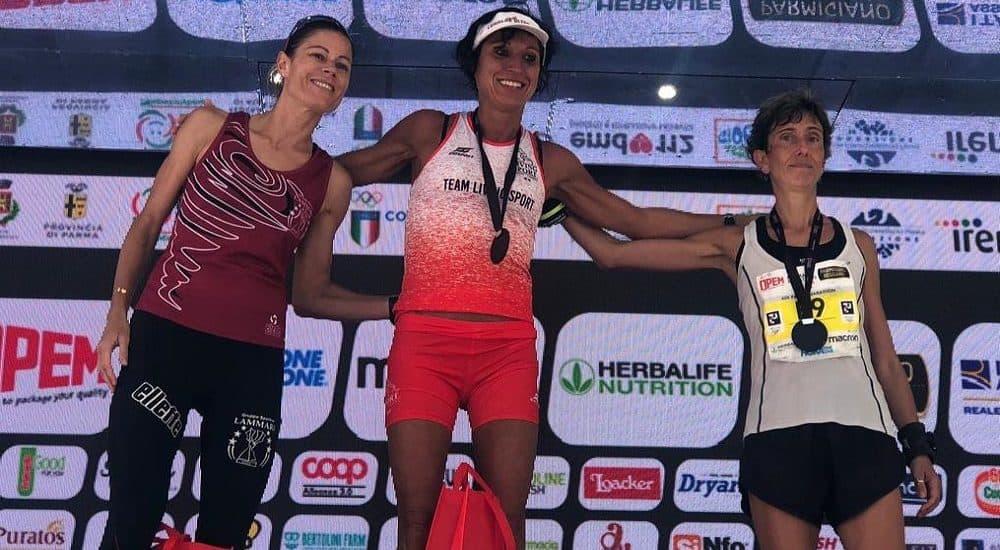 Federica Moroni running Maratona Parma