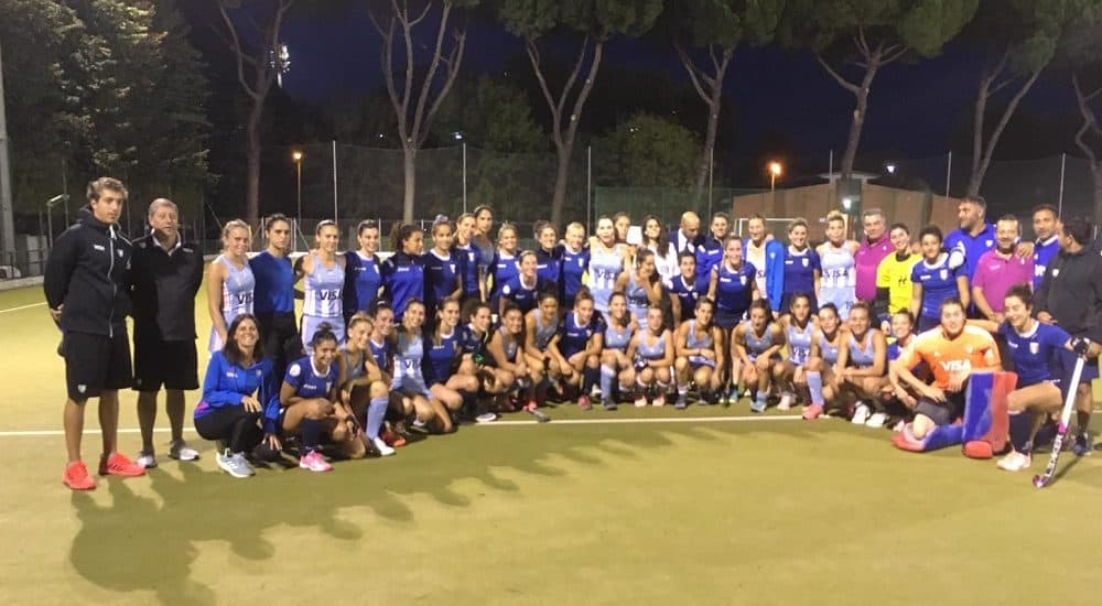 Italia-Argentina Hockey su prato femminile