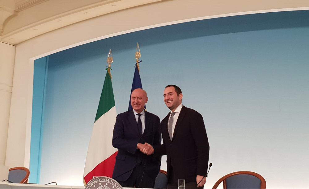 Rocco Sabelli e Vincenzo Spadafora