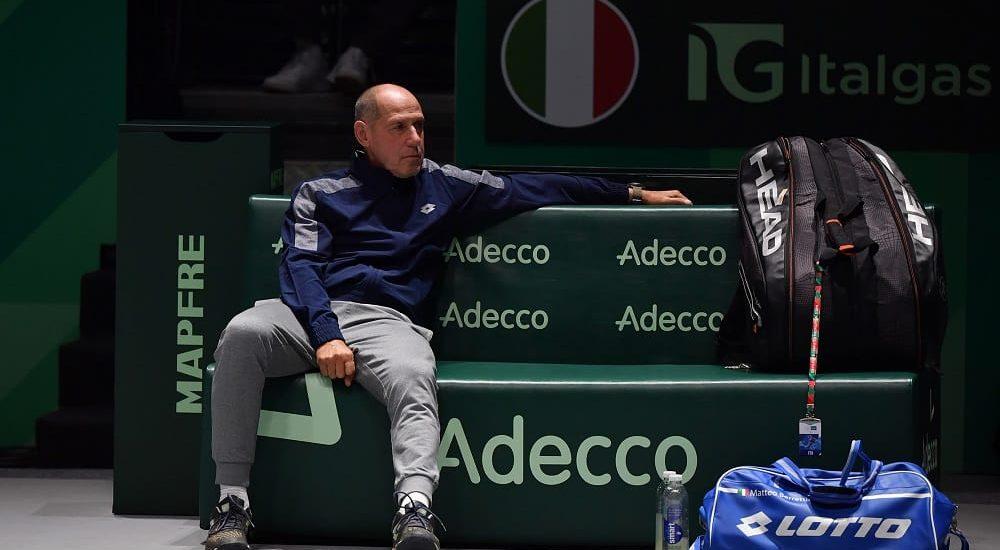 Corrado Barazzutti, Finali Coppa Davis 2019 - Foto Ray Giubilo