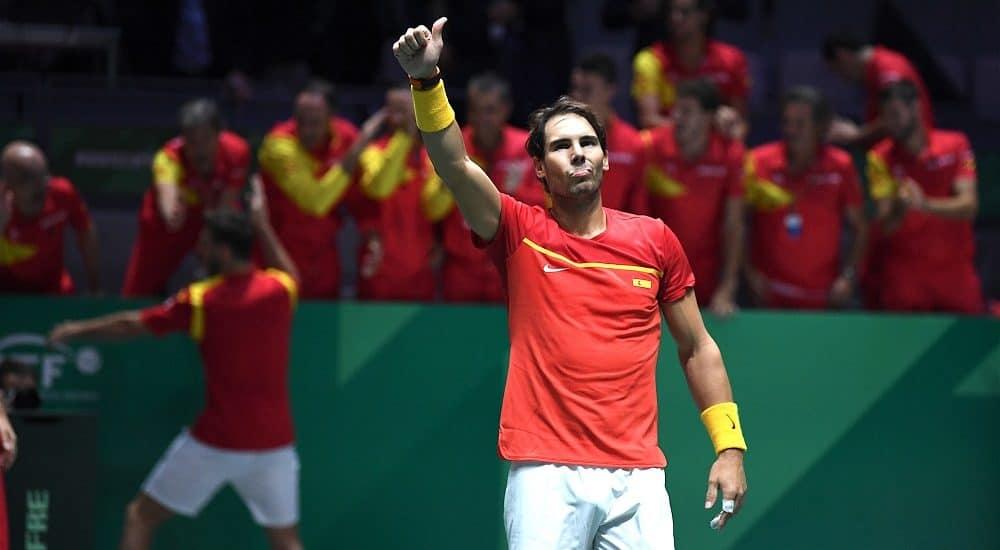 Rafael Nadal: finali Coppa Davis 2019 - Foto Roberto Dell'Olivo