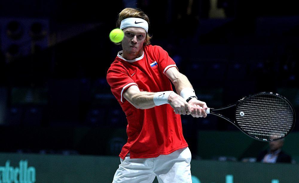 99 Andrej Rublev: finali Coppa Davis - Foto Roberto Dell'Olivo 5