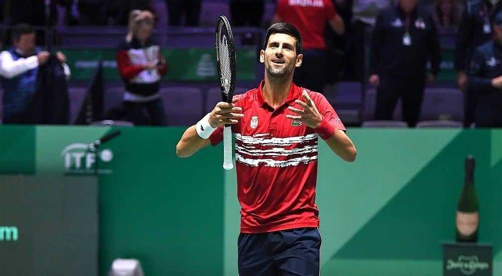 99 Novak Djokovic: finali Coppa Davis - Foto Roberto Dell'Olivo