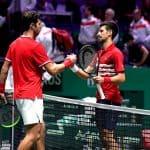 99 Novak Djokovic e Karen Khachanov - Foto Roberto Dell'Olivo