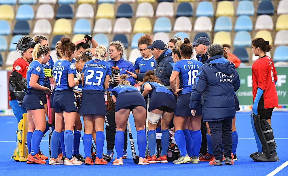 Italia hockey prato
