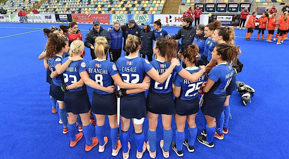 Italia hockey prato 2019