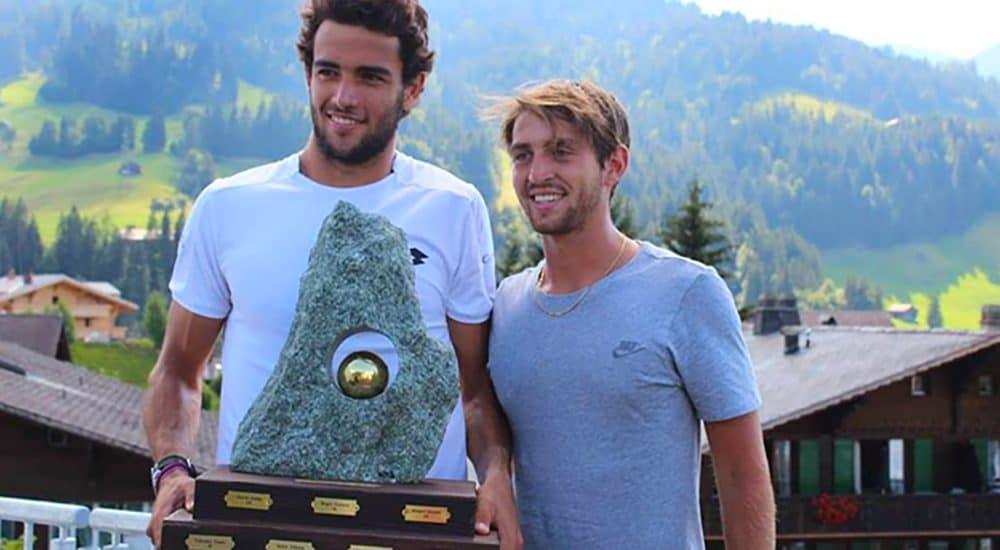 Matteo Berrettini e Marco Gulisano