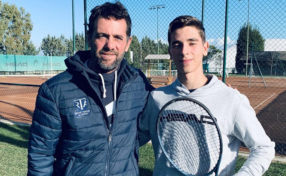 Stefano Cobolli e Matteo Gigante - Foto Sportface