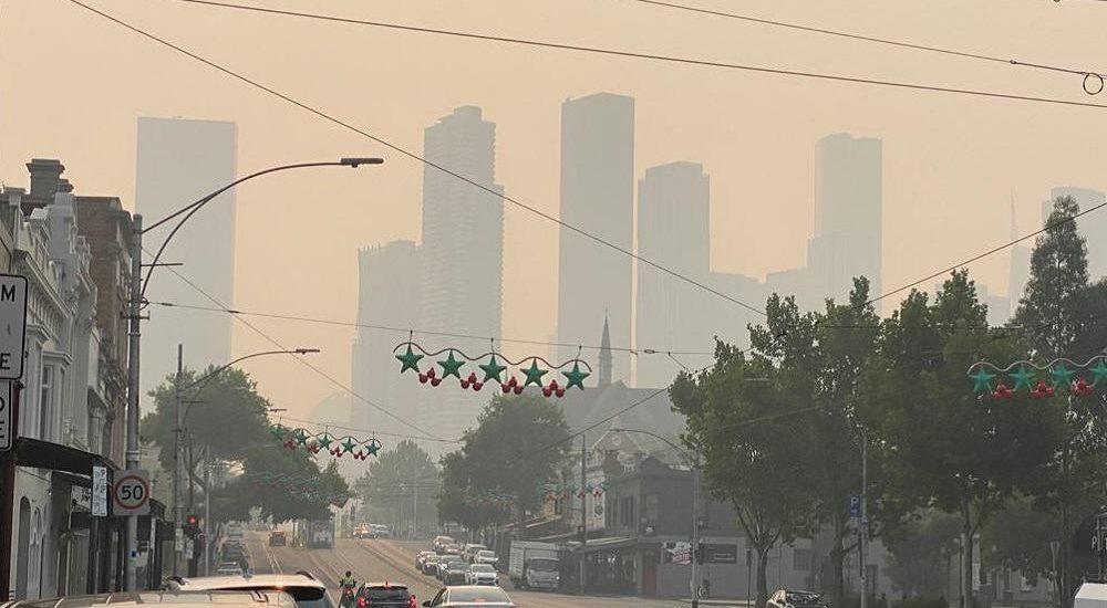 Australian Open 2020 smog