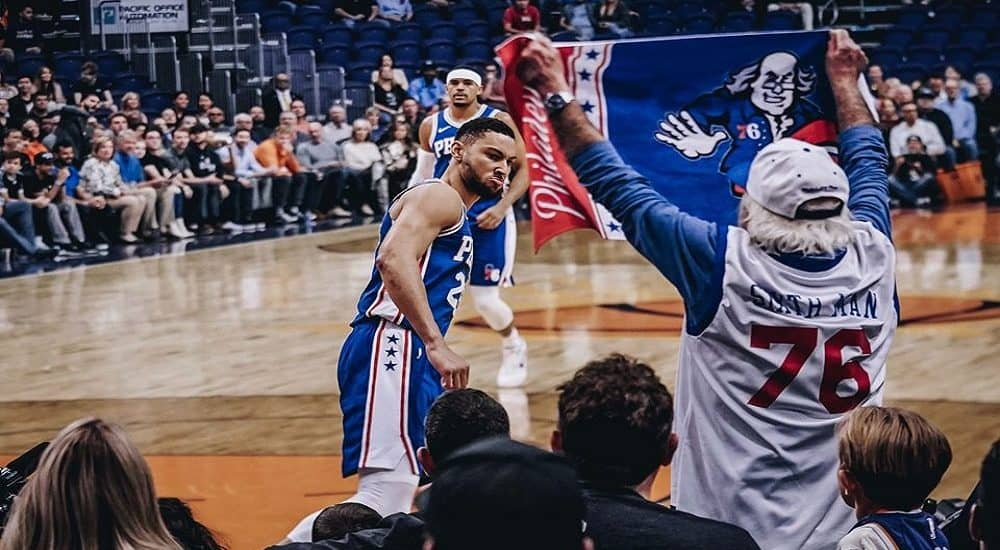 Ben Simmons, Philadelphia 76ers Official Facebook Page