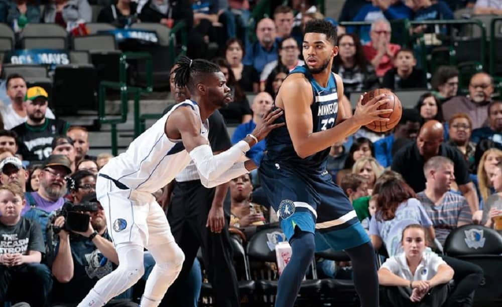 Karl-Anthony Towns, Minnesota Timberwolves Official Facebook Page