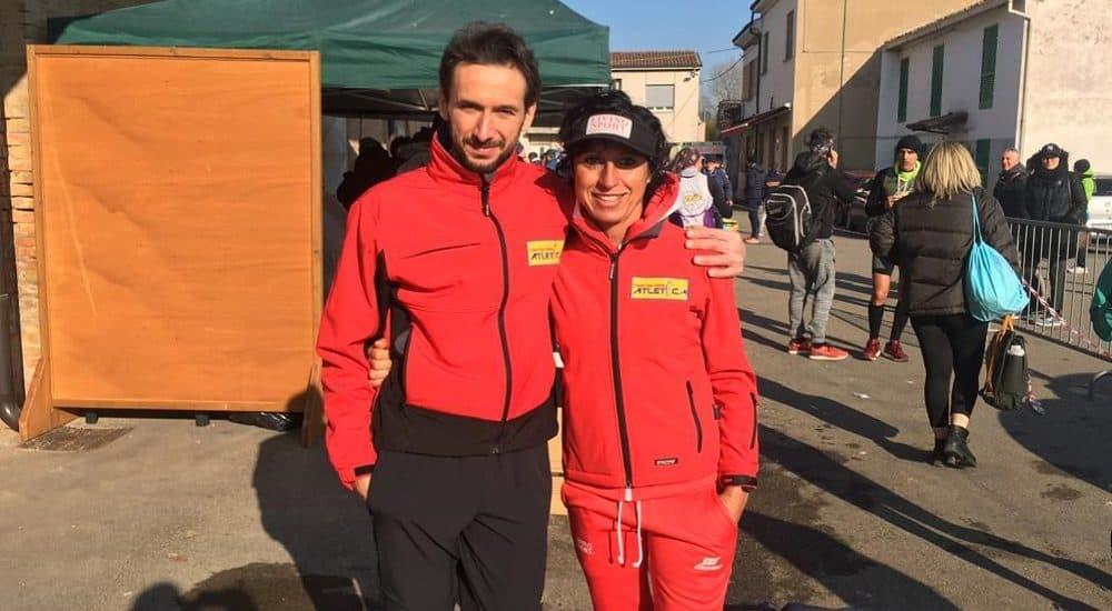 Matteo Lucchese e Federica Moroni