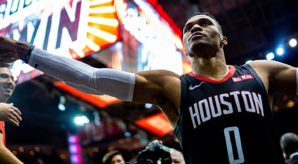 Russell Westbrook, Houston Rockets Official Facebook Page