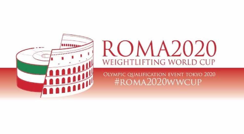 Pesi Coppa del Mondo Roma Logo
