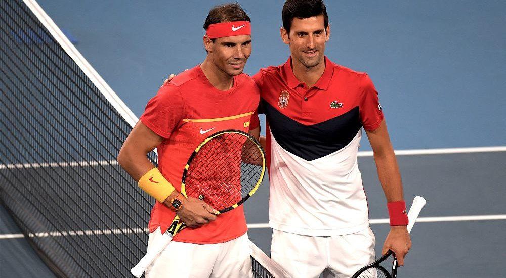 Rafael Nadal e Novak Djokovic - Foto Roberto Dell'Olivo
