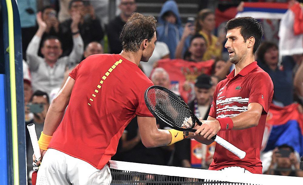 Novak Djokovic e Rafael Nadal - Foto Roberto Dell'Olivo