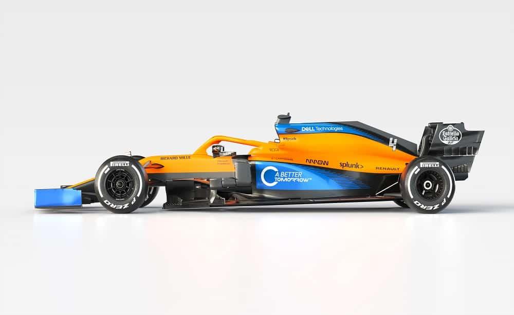 La McLaren ha presentato la nuova MCL35 [GALLERIA]