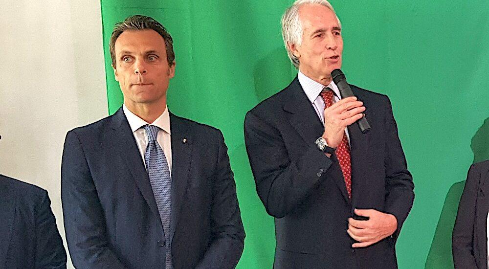 Carlo Mornati e Giovanni Malagò