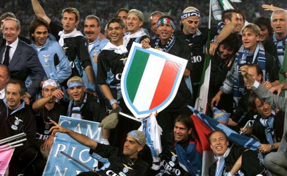 La festa scudetto della Lazio del 2000 - Foto Facebook