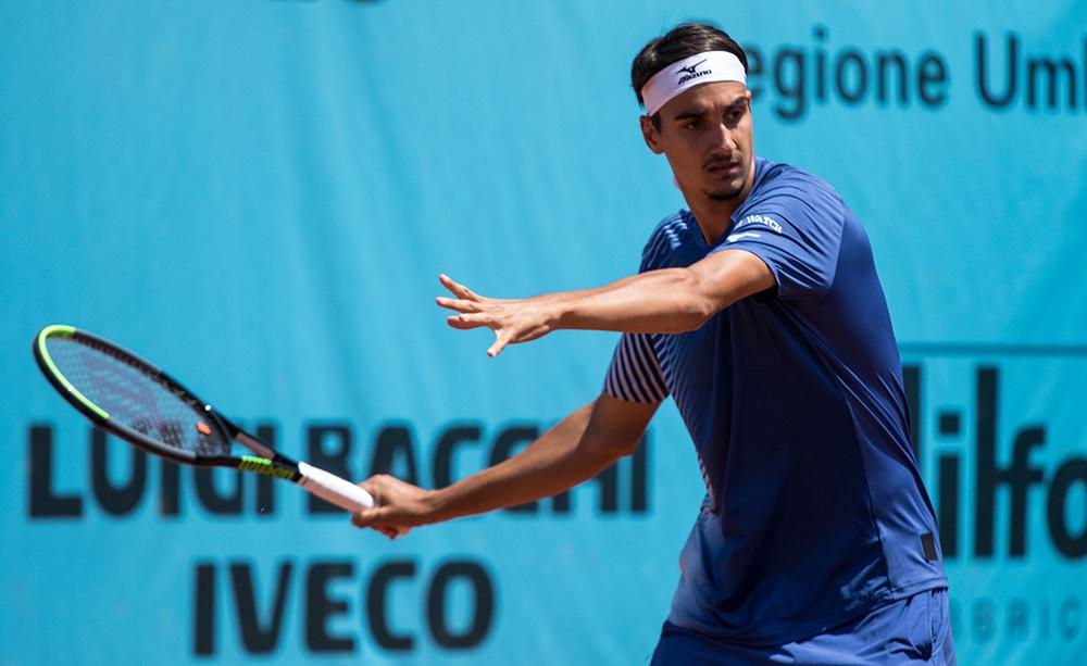 Lorenzo Sonego - Foto Marta Magni - Mef Tennis Events