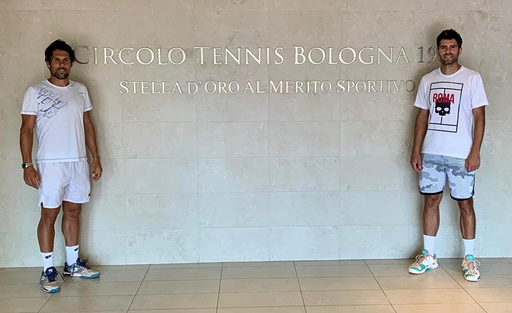 Federico Gaio e Simone Bolelli