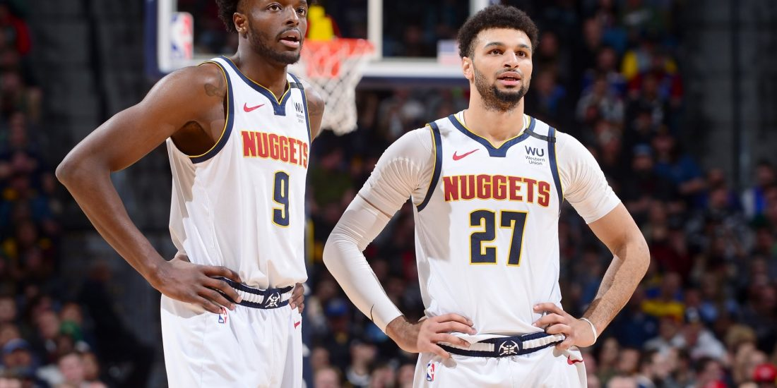 Jerami Grant e Jamal Murray, Denver Nuggets Official Facebook Page
