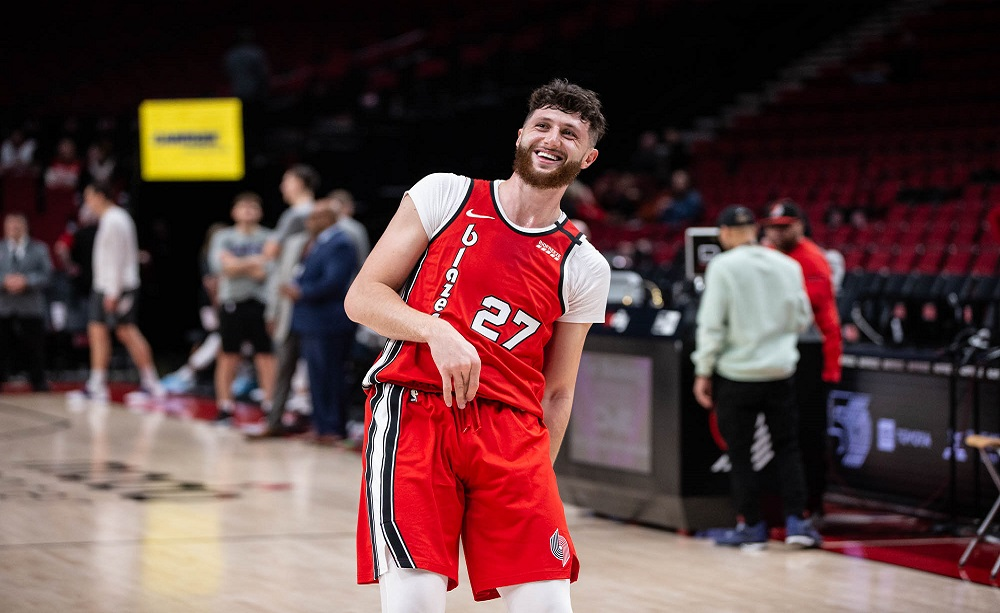 Jusuf Nurkic, Portland Trail Blazers Official Facebook Page