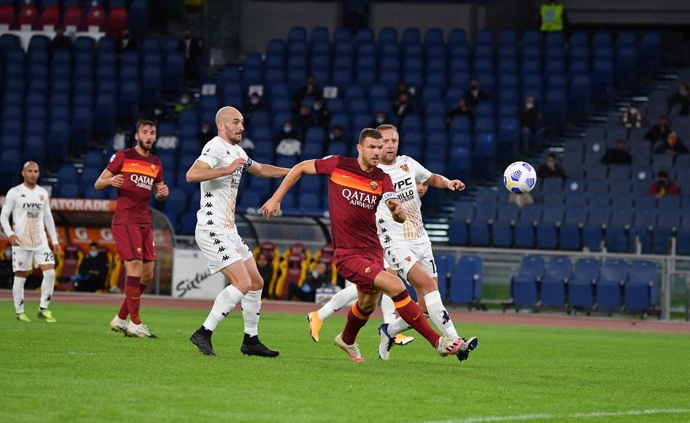 Edin Dzeko Roma-Benevento