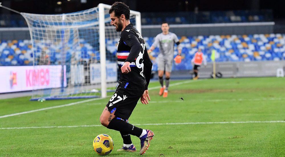 Antonio Candreva, Sampdoria - Foto Antonio Fraioli