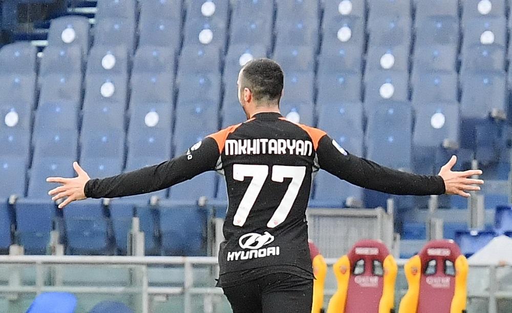 Henrikh Mkhitaryan, Roma - Foto Antonio Fraioli
