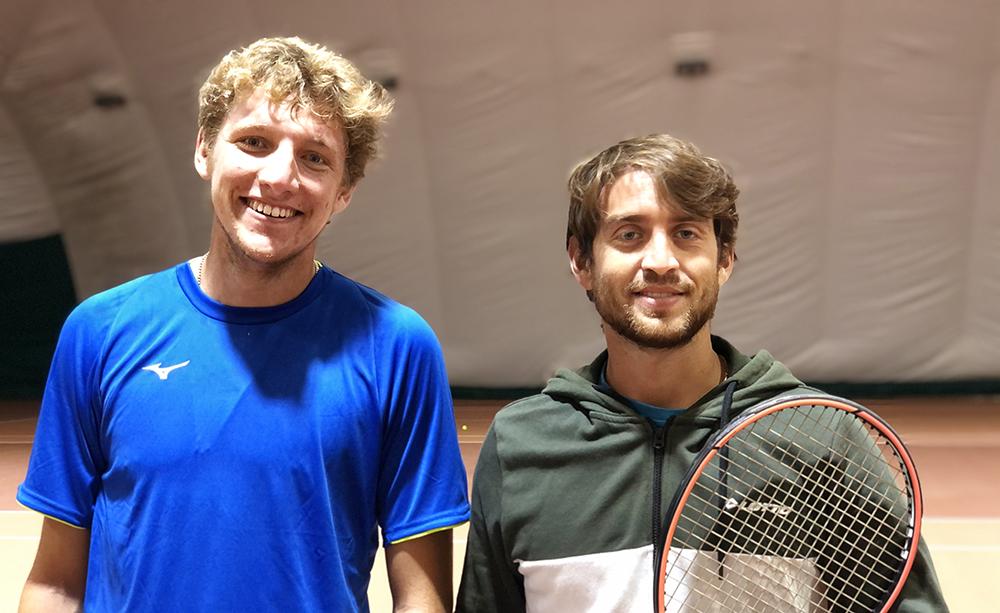 Jacopo Berrettini e Marco Gulisano - Foto Sportface
