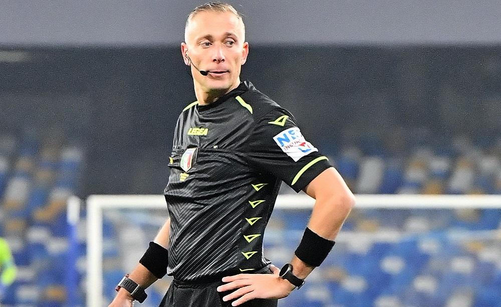 Arbitro Paolo Valeri - Foto Antonio Fraioli