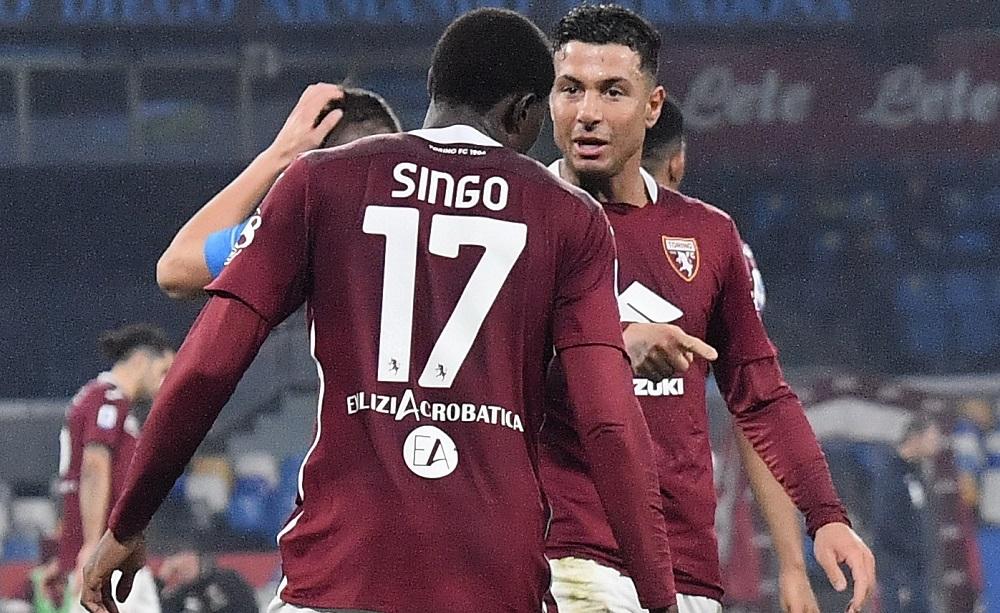 Wilfried Singo e Armando Izzo, Torino - Foto Antonio Fraioli