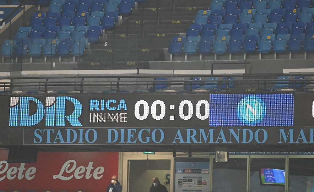 Stadio Maradona di Napoli - Foto Antonio Fraioli