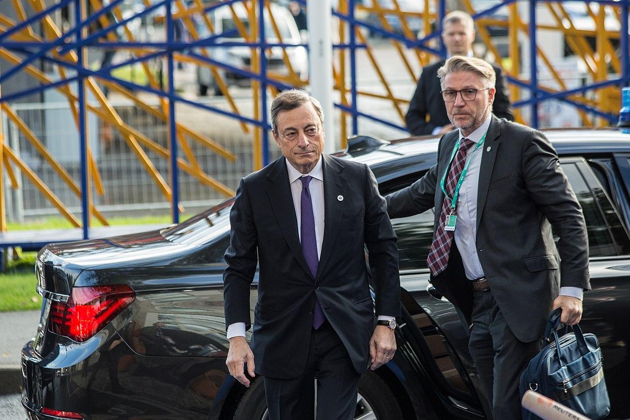 Mario Draghi - FOTO EU2017EE Estonian Presidency CC BY 2.0