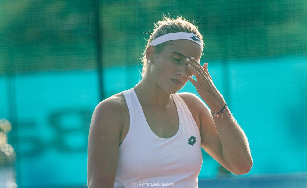 Deborah Chiesa - Foto Marta Magni/MEF Tennis Events