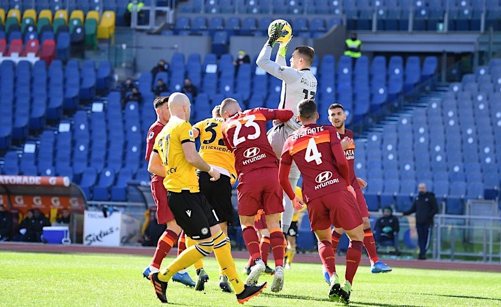 Roma-Udinese Pau Lopez