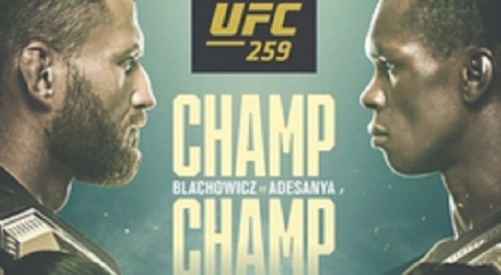 UFC, Błachowicz vs Adesanya